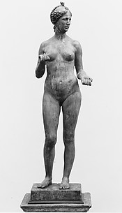 Standing woman (possibly Venus or Eve)