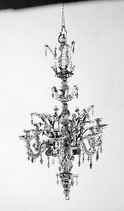 Miniature chandelier (one of a pair)