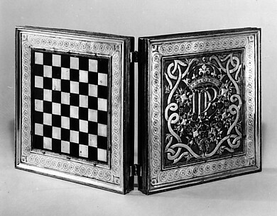 Chess and tric-trac board