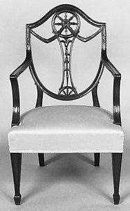Miniature armchair (part of a set)