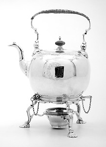 Teakettle and stand