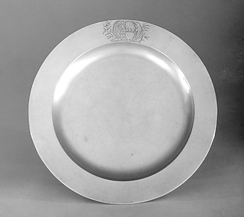 Set of four plates