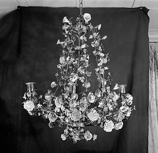 Nine-light chandelier