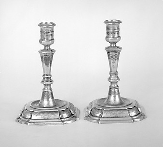 Candlestick (one of a pair) (part of a set)