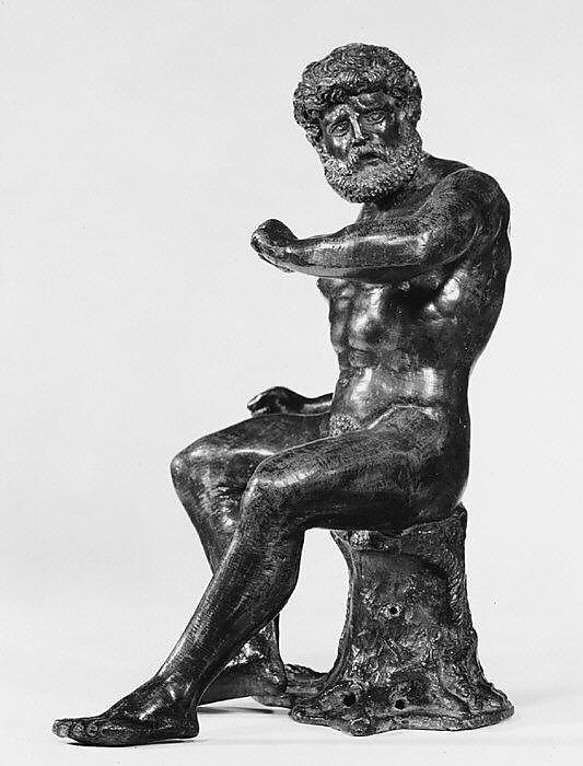 Seated Hercules