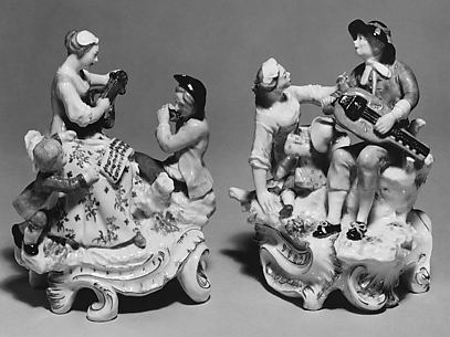 Musical entertainment (one of a pair)