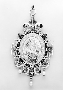Pendant with Emperor Ferdinand II and Empress Eleanor Gonzaga