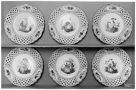 Plate (one of six)