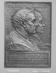 Pierre Boulanger, Ironworker, and His Wife