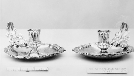 Chamber candlestick (one of a pair)