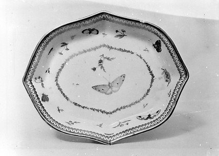 Tray (probably for a teapot)