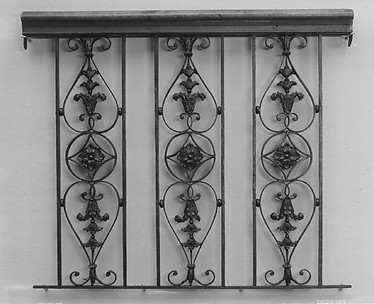 Set of three balusters