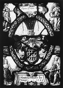 Arms of Matthias Seutter the Younger