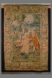 Rachel Giving Bilhah to Jacob from The Story of Jacob series