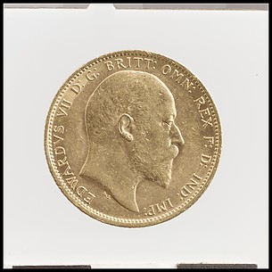 Edward VII sovereign