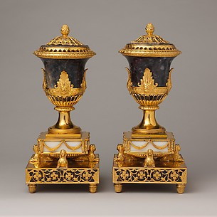 Pair of perfume burners