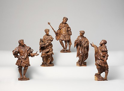 Group of statuettes