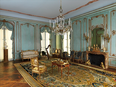 Boiserie from the Palais Paar, 30 Wollzeile, Vienna, Austria
