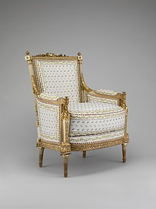 Armchair (Bergère) (part of a set)