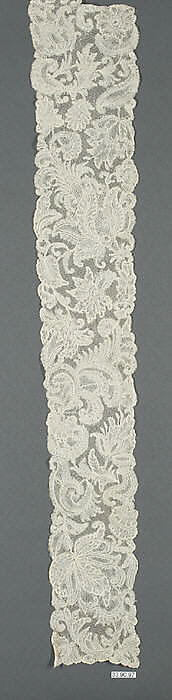 Lappets and cap edging