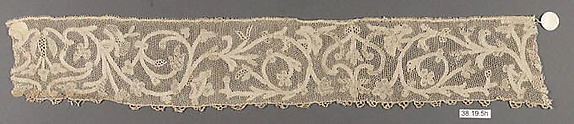 Hebrew ritual lace (one of four)