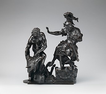Hercules Delivering the Erymanthean Boar to Eurystheus
