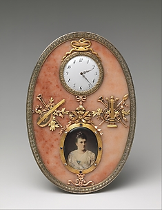 Imperial Frame and Clock