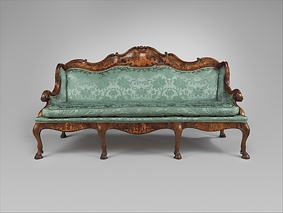 Sofa made for Prince-Elector Johann-Philipp von Walderdorff, Archbishop of Trier
