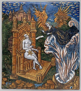 Juno, Seated on a Golden Throne, Asks Alecto to Confuse the Trojans