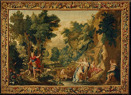 Diana and Actaeon from a set of Ovid's Metamorphoses