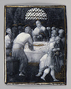 The Last Supper (one of seven plaques)