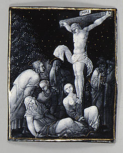 The Crucifixion (one of seven plaques)