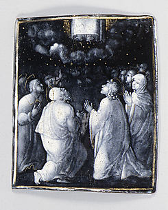 The Ascension of Christ (one of seven plaques)