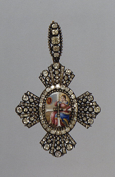 Badge of the order of Saint Catherine