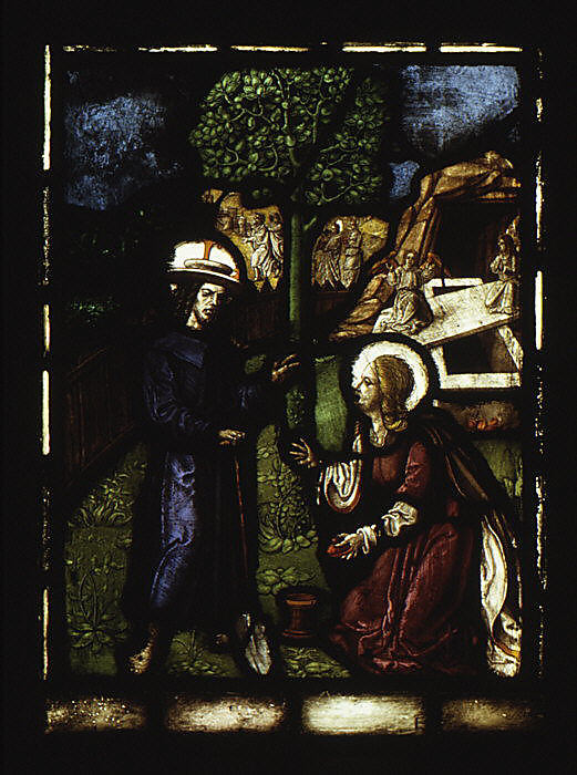 Christ Appearing to Saint Mary Magdalene (one of a set of 12 scenes from The Life of Christ)