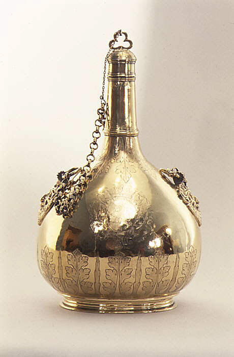 Pilgrim bottle (one of a pair)