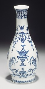 Bottle with arabesque designs (one of a pair)