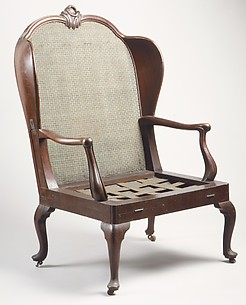 Folding bed chair (porter's chair)