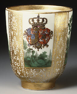 Cup with the Arms of Poland/Saxony and Naples/Sicily