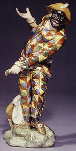 Harlequin (one of a pair)