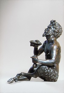 Seated Satyr with a Shell