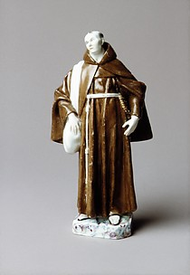 Mendicant Capuchin Friar (one of a pair)