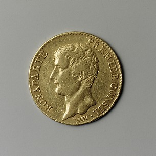 20-franc piece, year 12A, First Consul