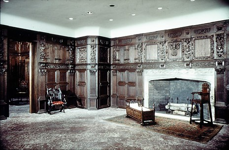Chimneypiece of the Elizabethan Room from Great Yarmouth, Norfolk