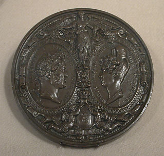 Commemorating the visit of Louis-Philippe, Queen Marie Amélie, & the Royal children to the Mint, November 8, 1833.