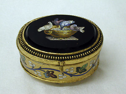 Miniature jewel box