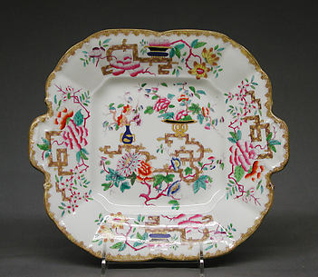 Square dish (part of a service)