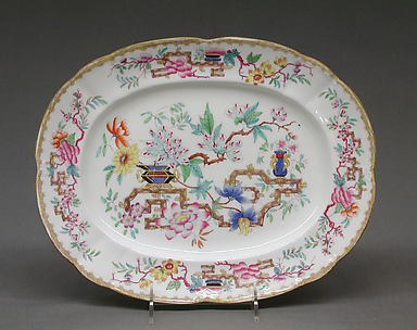 Oval dish (part of a service)