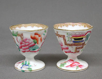 Pair of egg cups (part of a service)