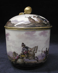 Sugar bowl (part of a service)